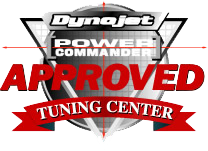 Dynojet's approval logo and the link to our authorized dealer page.